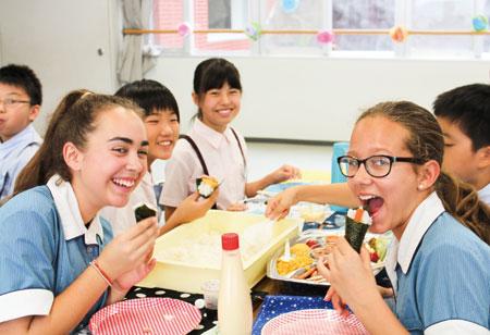 姉妹校コーニッシュカレッジとの交流会がニュース和歌山に掲載されました