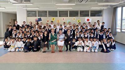 姉妹校セント・キャサリン・カトリック・カレッジとの交流会の様子が和歌山放送で放送されました